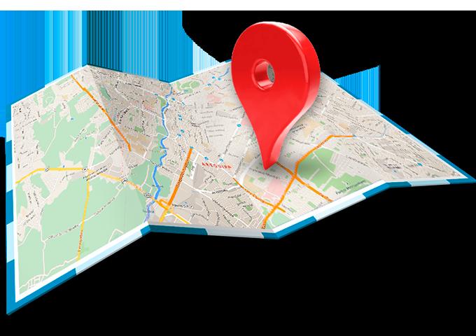 Localización De Una Casa En El Mapa: Localización